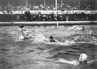 London 1908 Water Polo-400